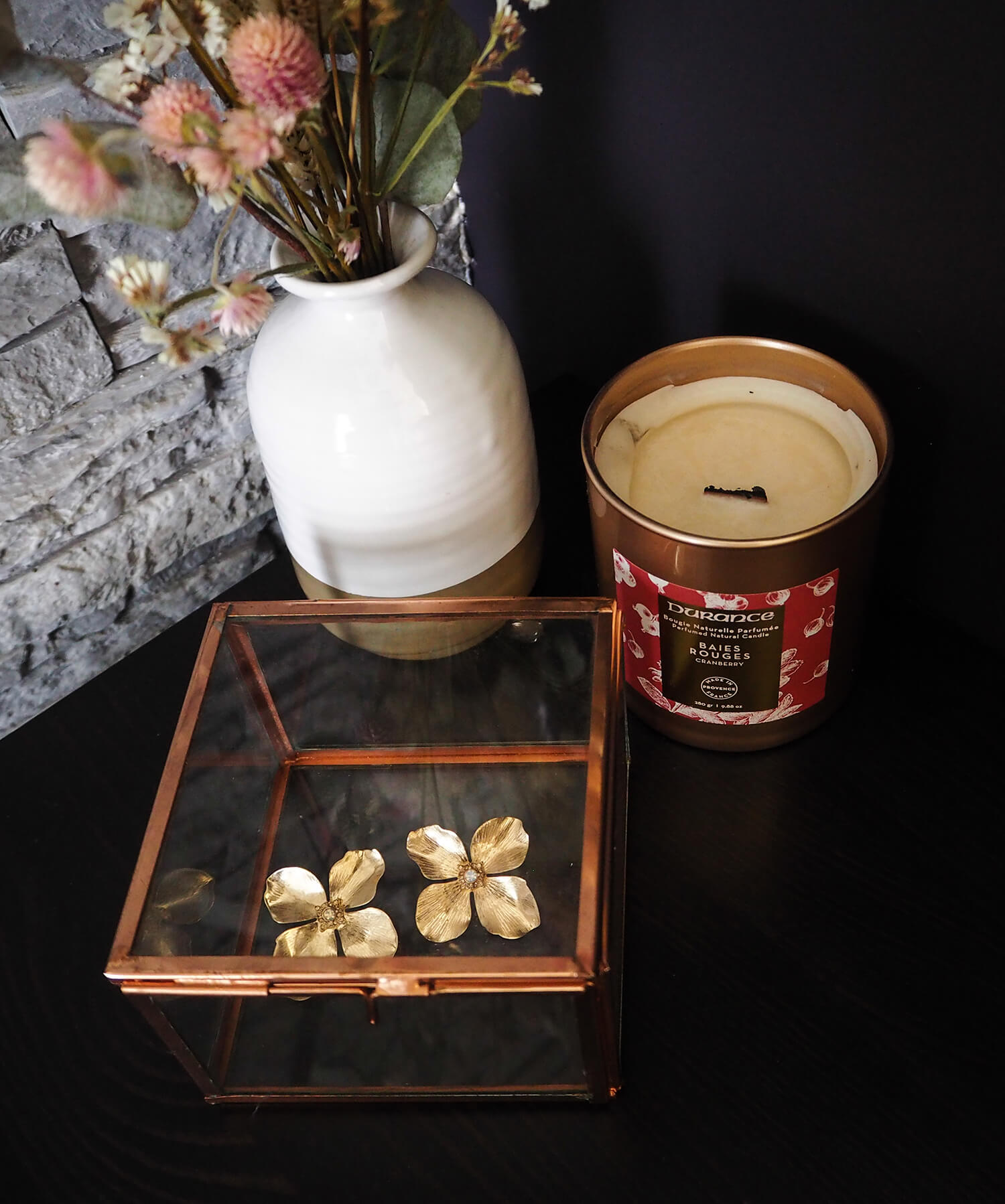 Boite vitrine pour bijoux