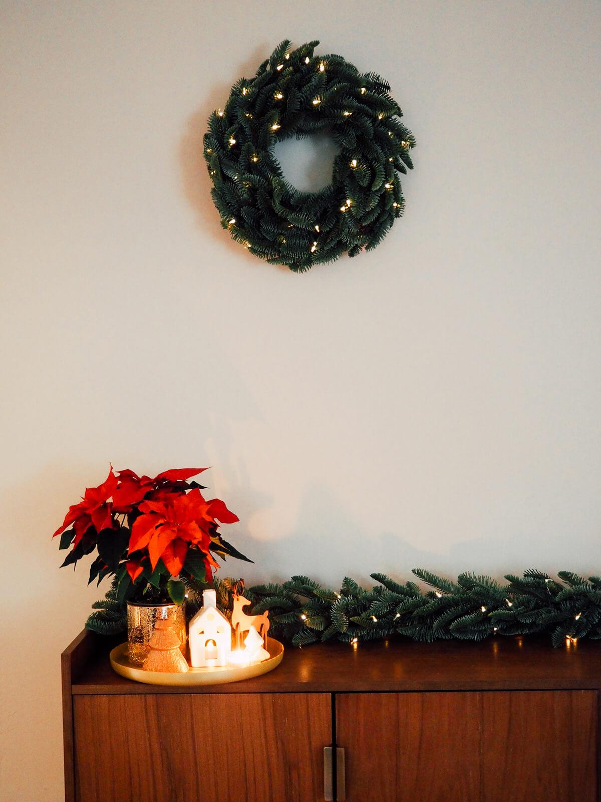 Décorer son intérieur pour Noël (sans forcément faire de sapin)