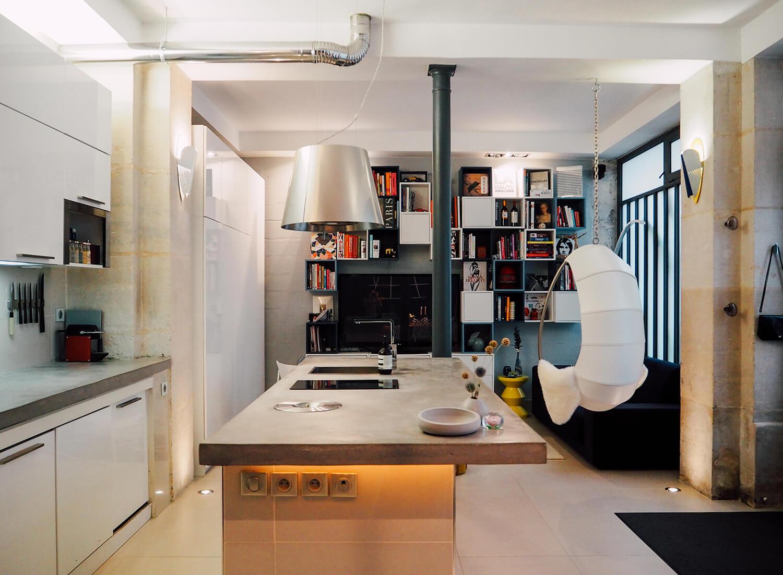 Le loft parisien de Claire et Thibault, les fondateurs de Zeeloft - FrenchyFancy