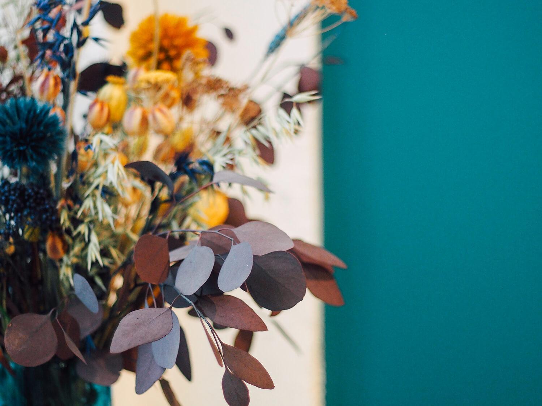 Bouquet de fleur séchées