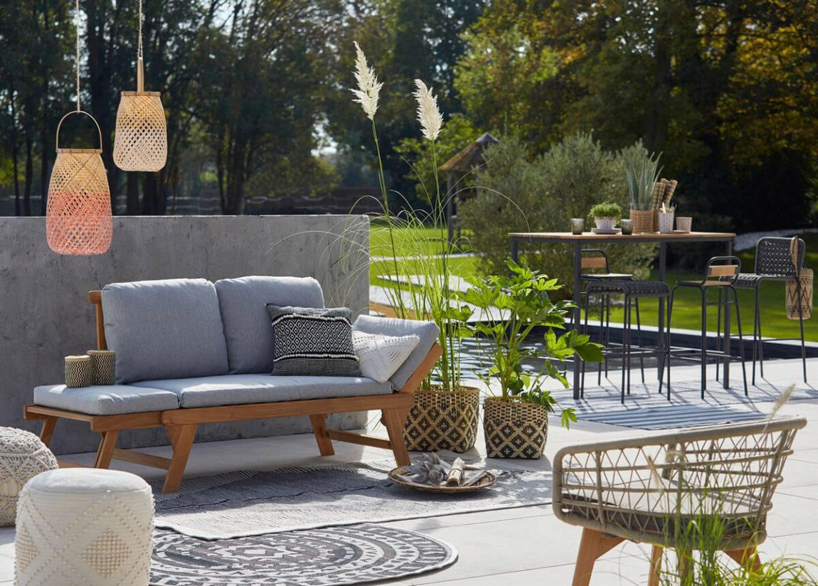 Où trouver du beau mobilier de jardin ? - Frenchy Fancy