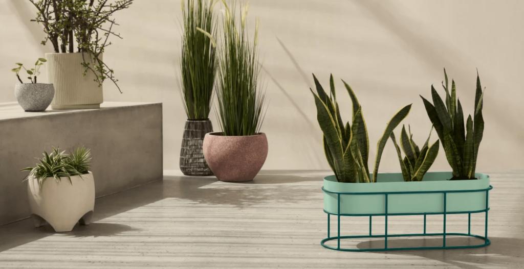 Pot de jardin design