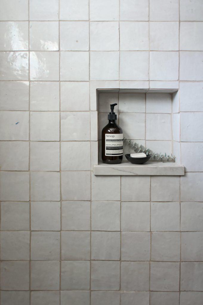Salle de bain en zelliges
