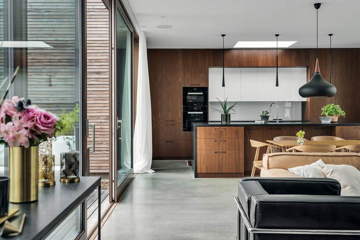 Une maison d'architecte en bois Kebony - FrenchyFancy