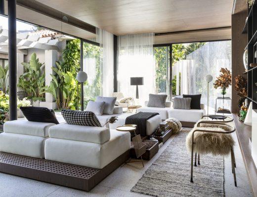 Une maison contemporaine où règne la verdure - FrenchyFancy