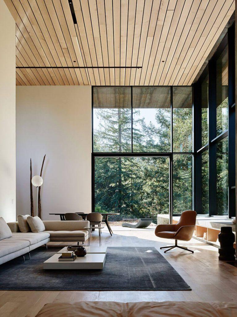 Une maison contemporaine en Californie