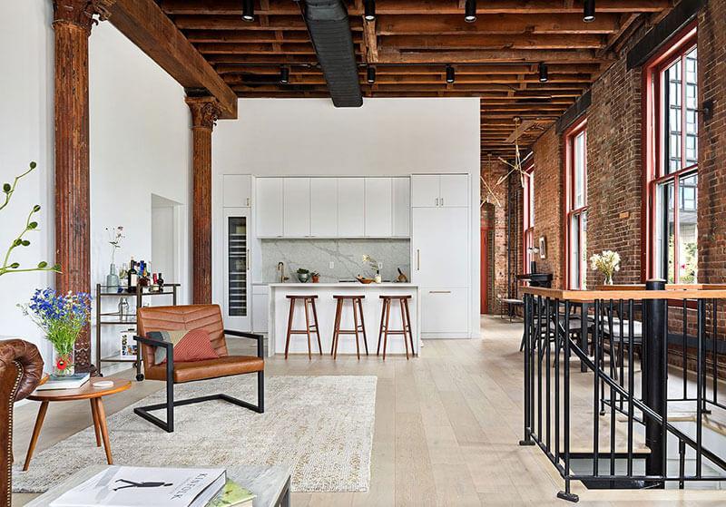 Je veux vivre dans ce loft à New-York !