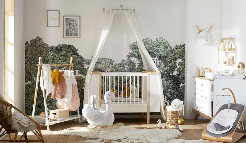 Une chambre de Bébé esprit nature - FrenchyFancy