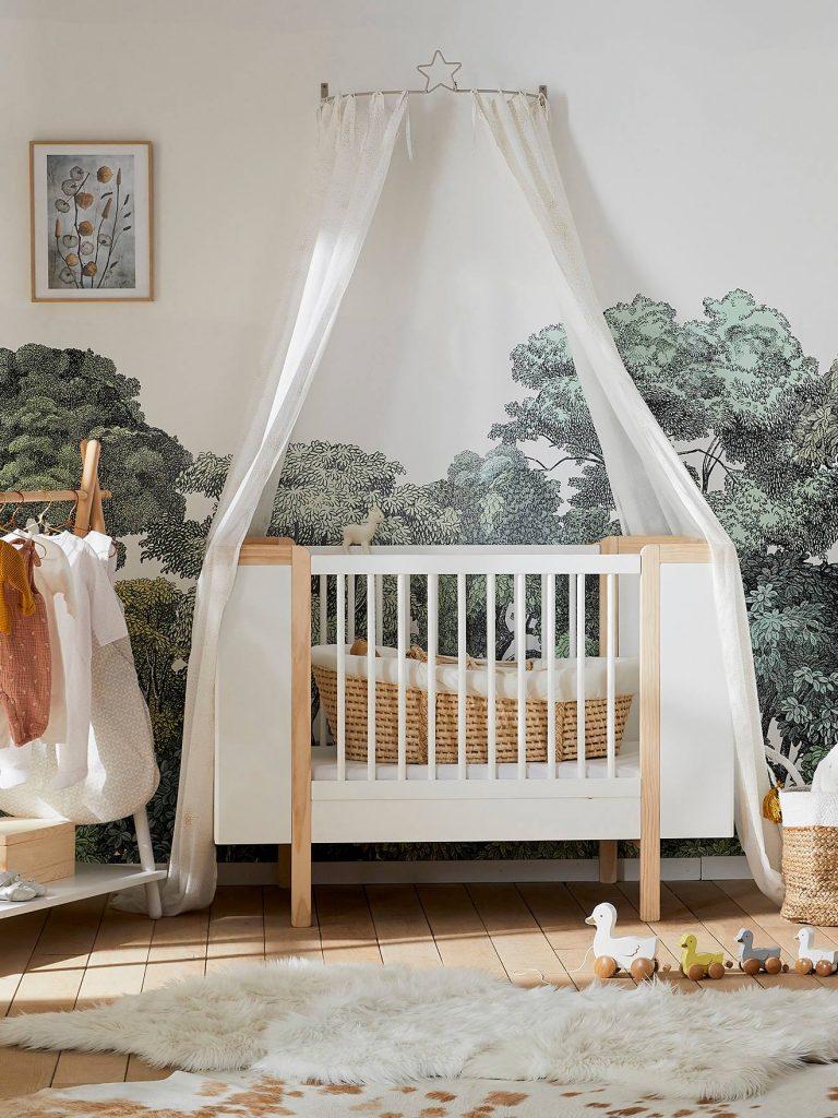 Une chambre de Bébé esprit nature