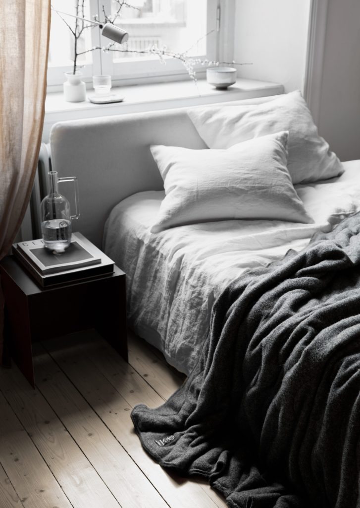 Décoration chambre noir et blanc