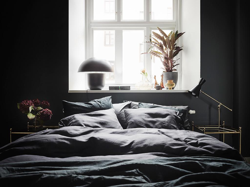 Décoration chambre noire
