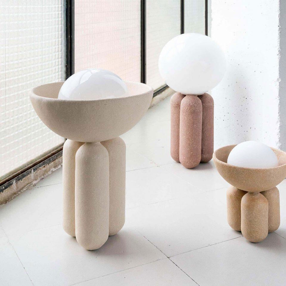 La lampe Half Sphere de Lisa Allegra - FrenchyFancy