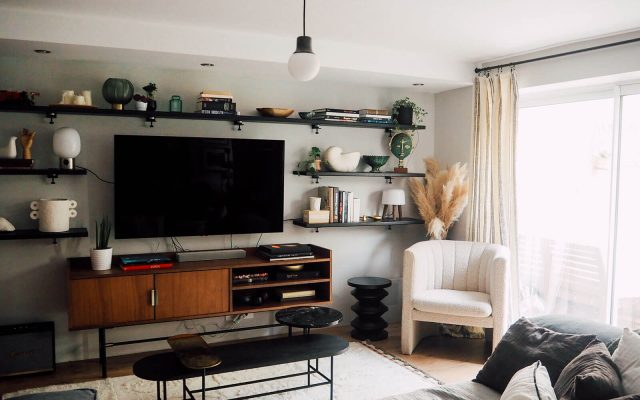 Décoration salon cosy