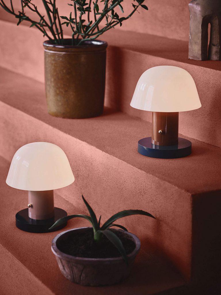 Les luminaires &tradition : la lampe Setago de chez &tradition