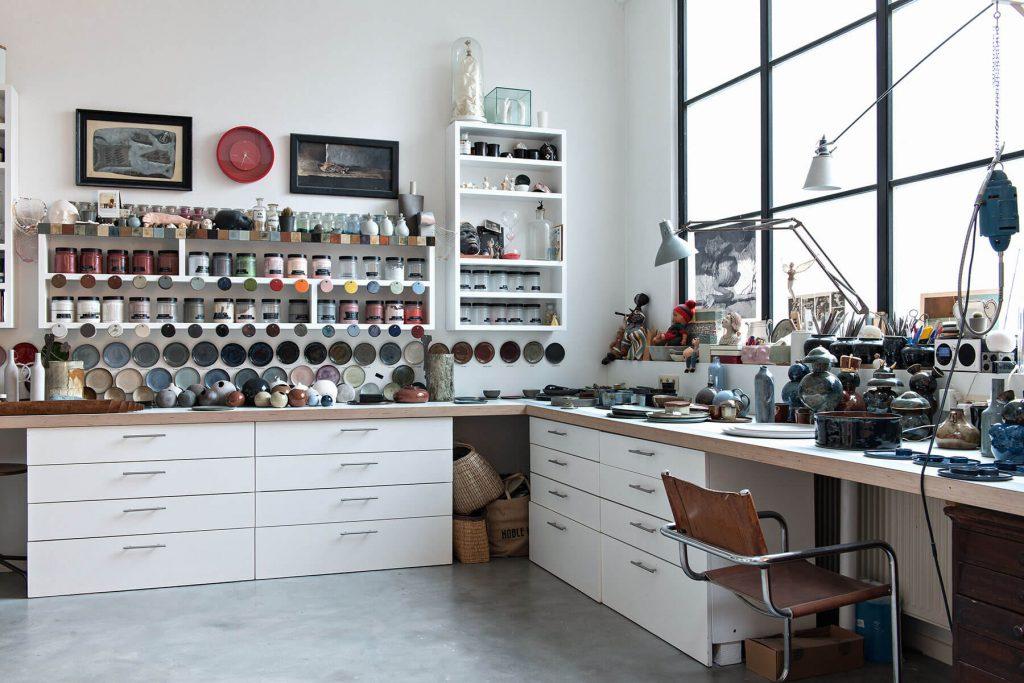 Atelier de poterie d'Anita Le Grelle