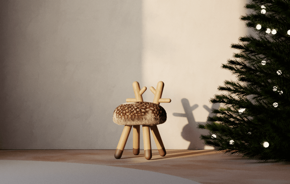 Chaise enfant biche chez Made in design