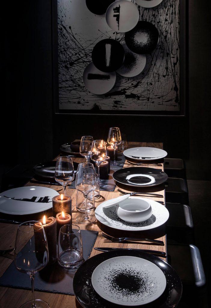 Table de Noël style Arty