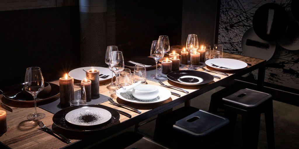 Décoration de table moderne
