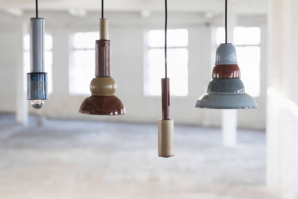 Suspension design en céramique