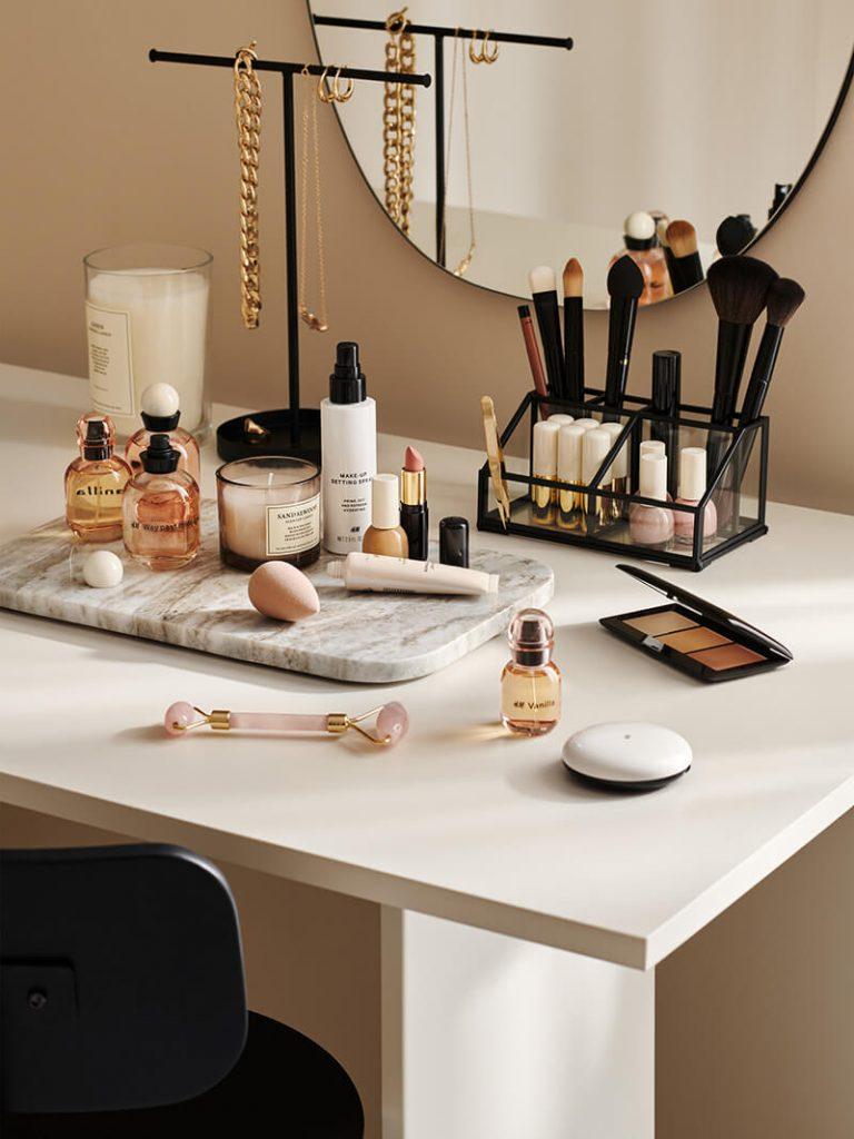 Idée déco et aménagement coiffeuse H&M Home