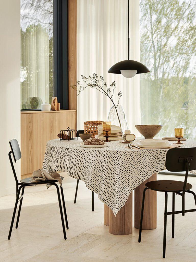 Salle à manger style scandinave H&M Home