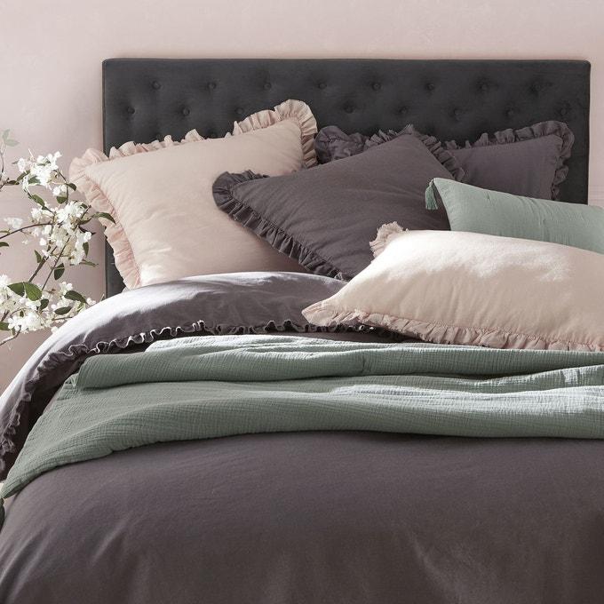 Tête de lit capitonée