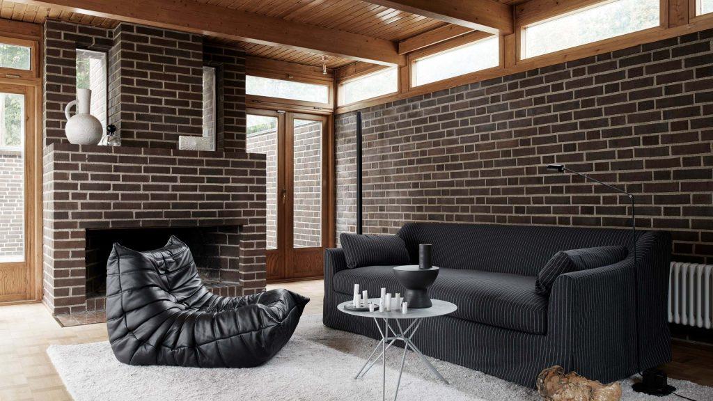 Décoration salon avec canapé Togo Ligne Roset