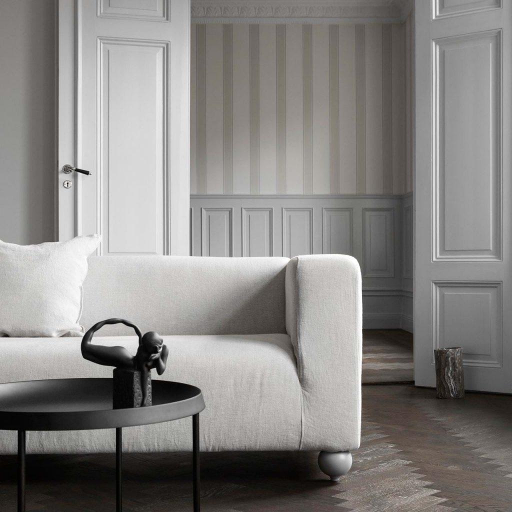 Canapé Ikea et housse Bemz