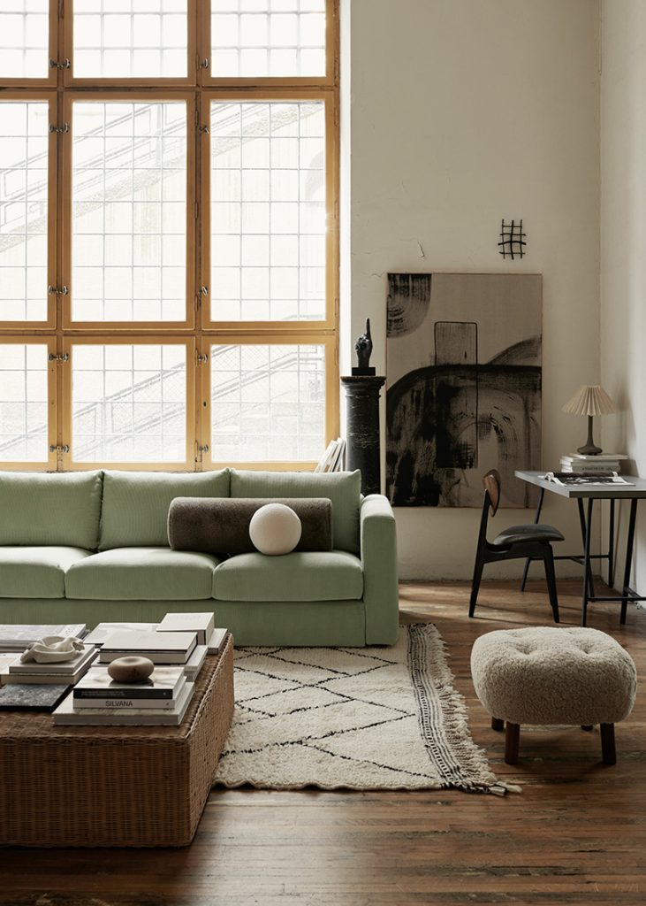 Tapis berbère décoration cosy