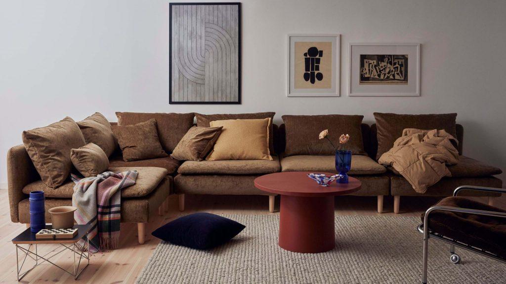 Customiser un canapé Ikea avec une housse Bemz
