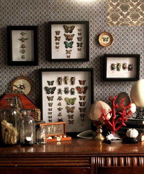 Tableaux avec papillons