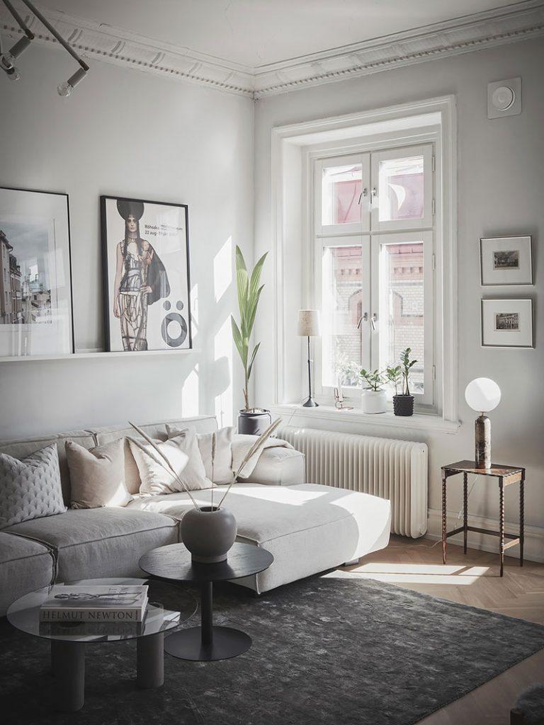 Canapé d'angle salon