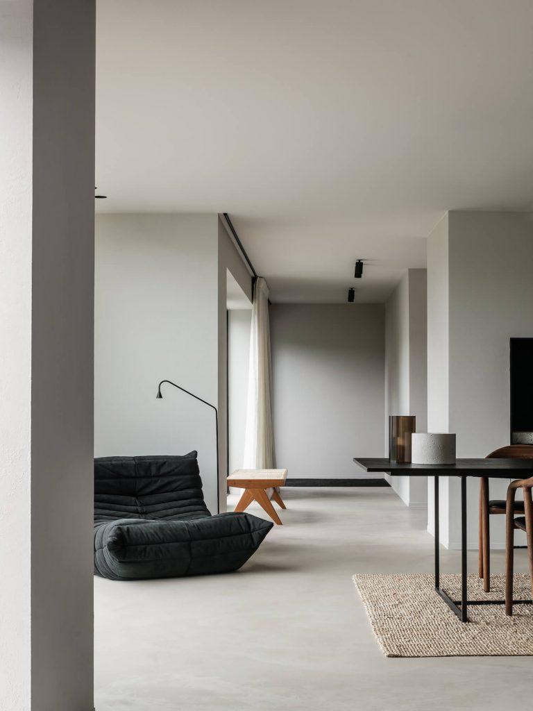 Canape Togo dans intérieur style loft