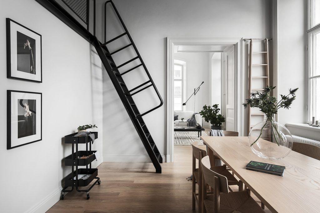 Escalier échelle