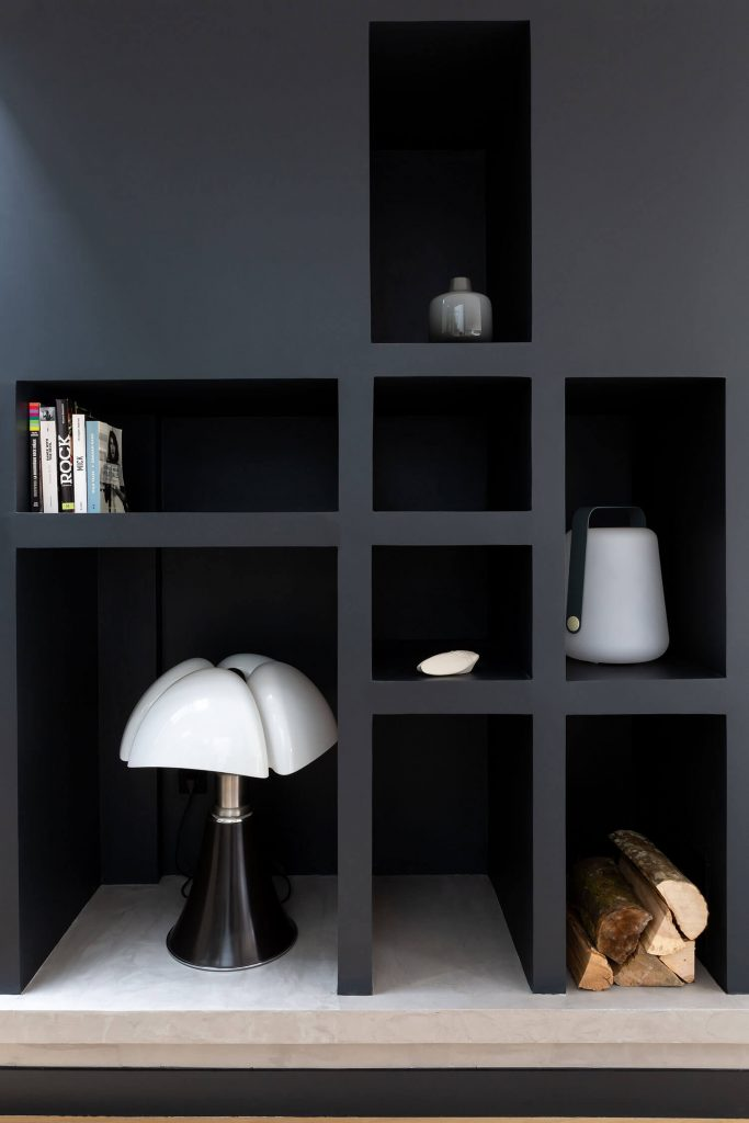 Lampe Pipistrello noire