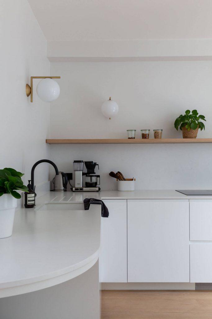 Applique murale Flos dans la cuisine