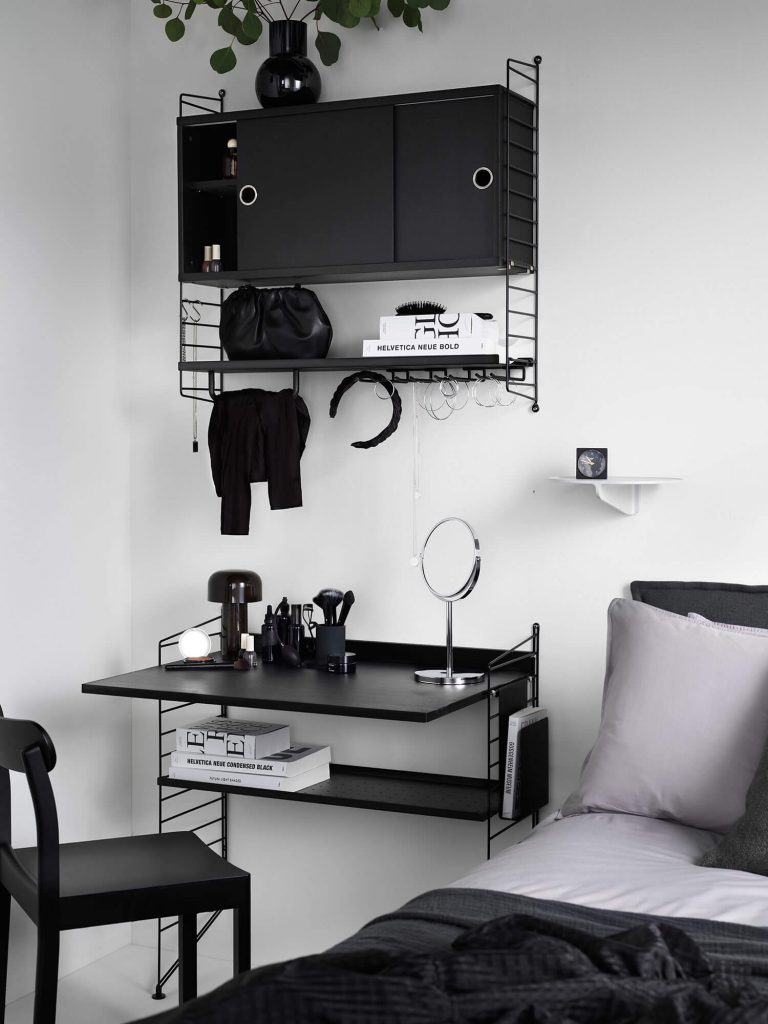 Bureau String noir
