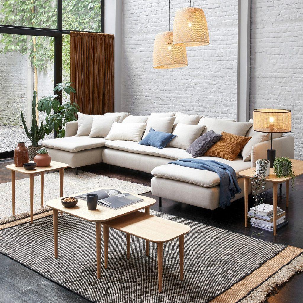 Canapé modulable moderne