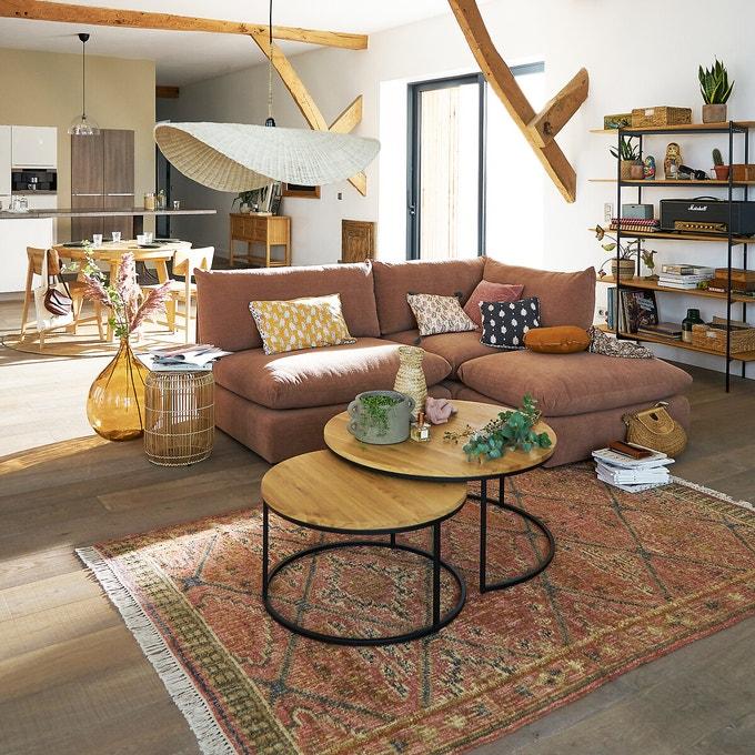 Le canapé d'angle modulable Malo