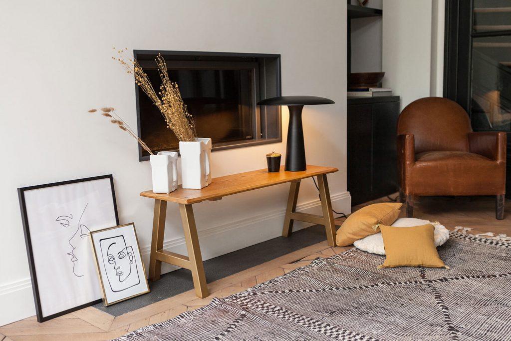 DIY console en bois