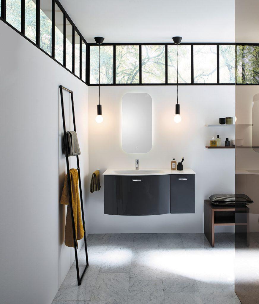 Mobilier contemporain salle d'eau