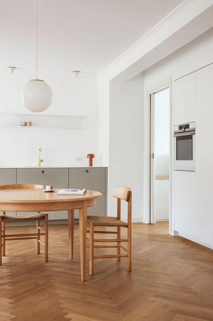 Cuisine scandinave Reform Basis coloris galet