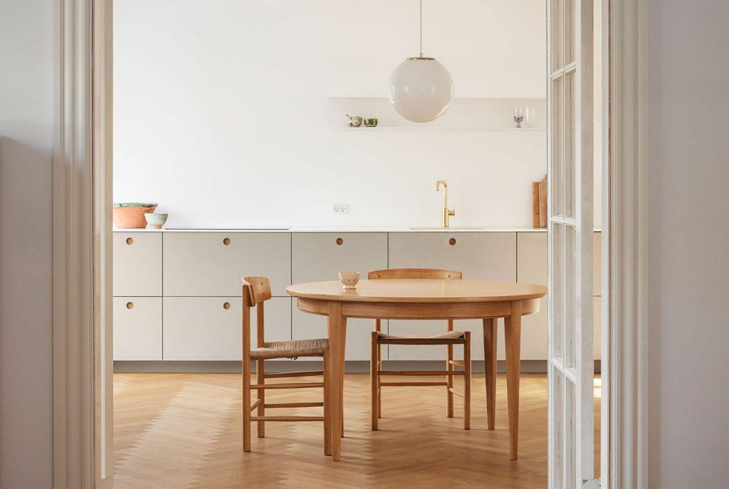 Cuisine minimaliste Reform Basis coloris galet
