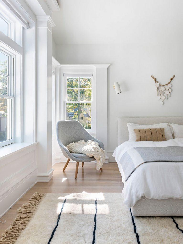 Chambre déco tapis berbère
