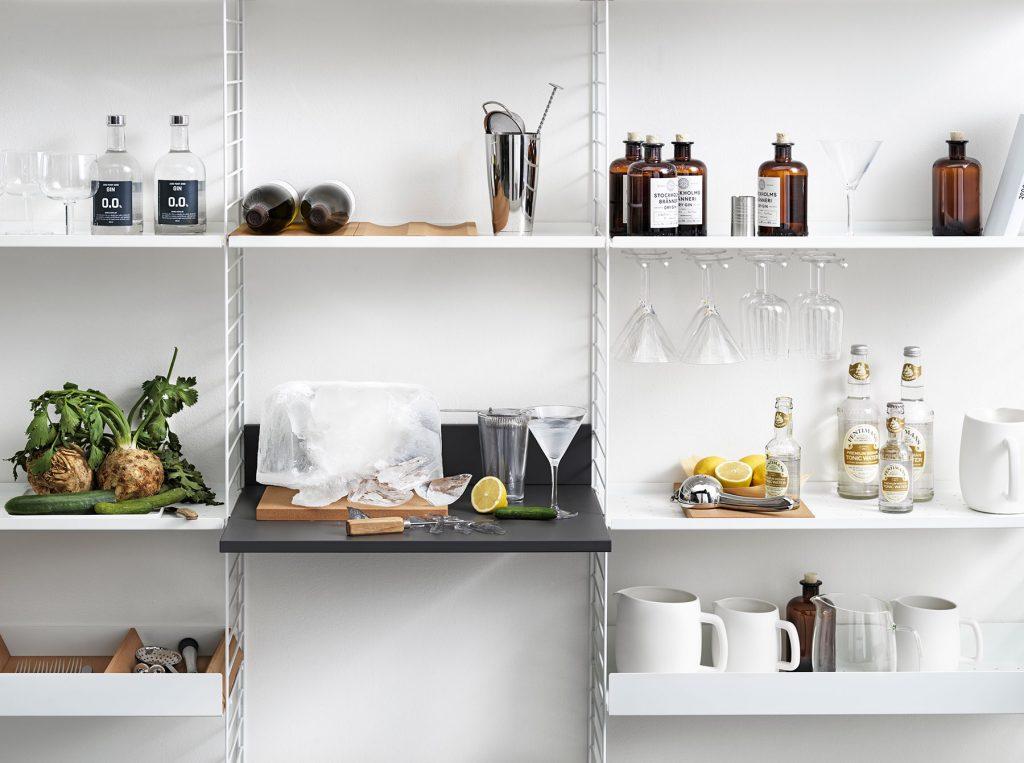 Aménagement cuisine design scandinave