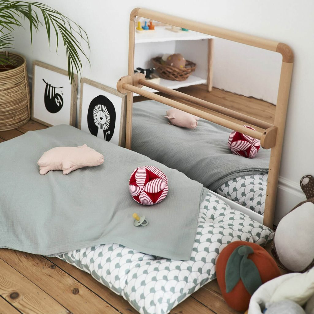 Aménagement chambre Montessori