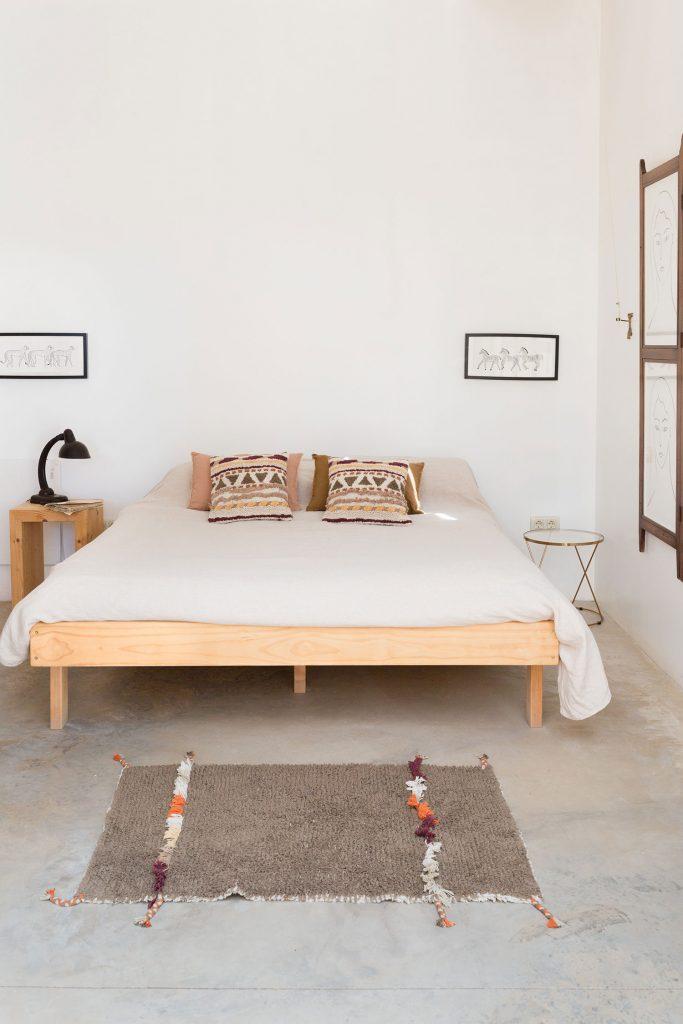 Décoration chambre style ethnique