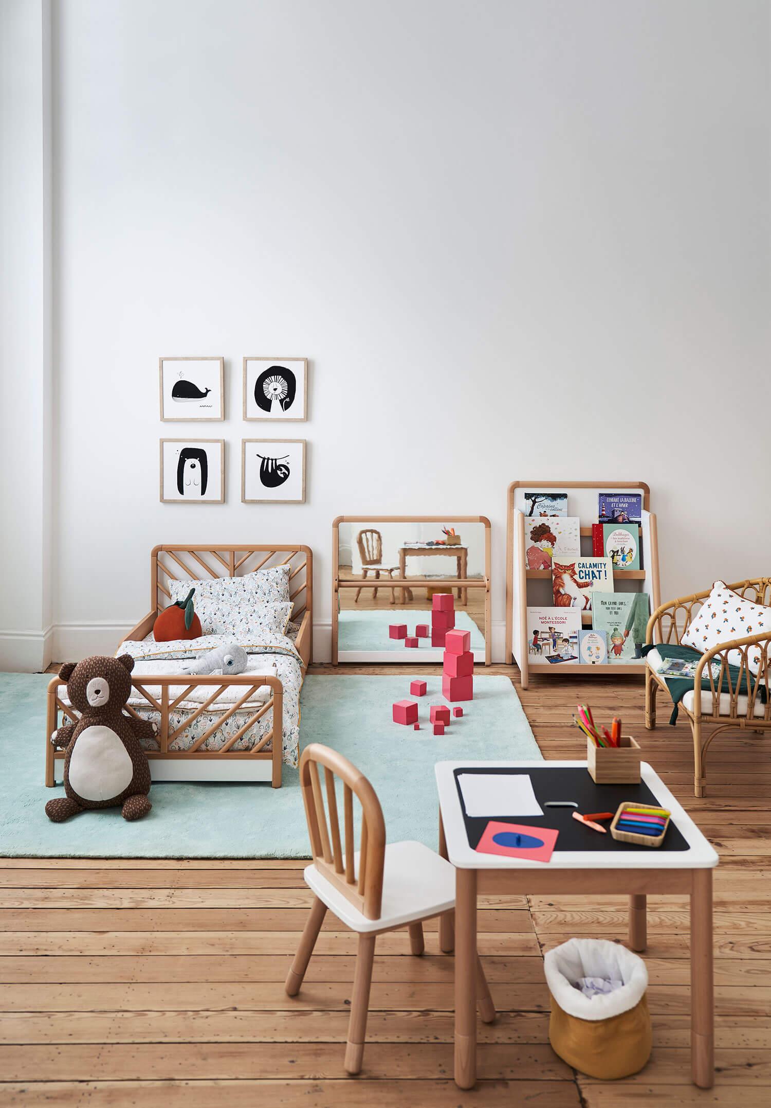 Décoration chambre enfant Montessori