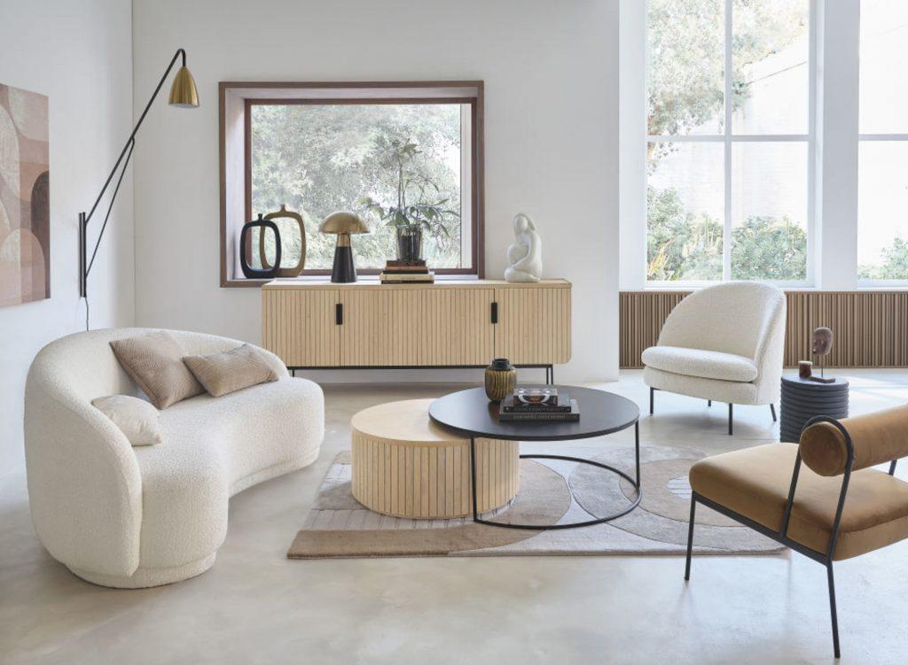 Le fauteuil Prana, de chez Maisons du Monde
