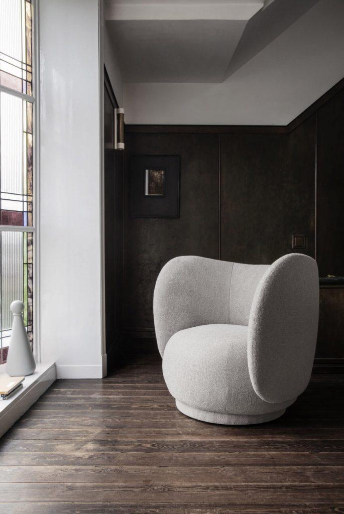 Le fauteuil Rico, de chez Ferm Living